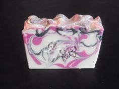 Black Raspberry and Vanilla Soap, Handmade Soap, Cold Process Soap, Scented Soap, Handcrafted Soap - pinned by pin4etsy.com