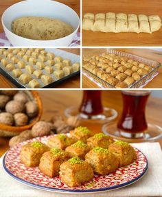 tatlilar Kitchen Decoration how to decorate a small kitchen Turkish Recipes, Italian Recipes, Ethnic Recipes, Turkish Sweets, Fish And Meat, Fresh Fruits And Vegetables, Iftar, Snacks, Easy Desserts