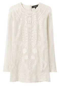 Boots and messy hair Isabel Marant Diane Long Sleeved Lace Top La Garconne Isabel Marant, Fancy Tops, Diane, Future Fashion, Material Girls, Fashion Outfits, Womens Fashion, Playing Dress Up, White Lace