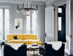 See more images from decorating with gray on domino.com