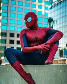 Sometimes the world isn't ready for people like us and that's okay thats why things change and we all have to make the world a better place by being our best selves.  Photo by: @jasonfisher  Suits by: @therpcstudio  #cosplay #cosplayer #actor #california #spiderman #marvel #comics #mcu #photography #superhero #lit #spidermancosplay #rpc #atm #city