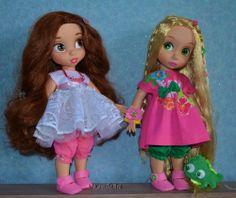 friends Rapunzel & Belle
