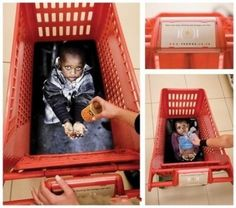 very cool-creative ads. reminds us about them when shopping