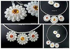 Sady šperkov - Margarétky SET - 5575474_