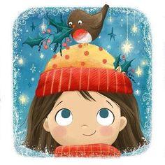 38 Ideas For Illustration Art Kids Children Girls Art And Illustration, Christmas Illustration, Character Illustration, Christmas Drawing, Kids Christmas, Painting For Kids, Art For Kids, Art Children, Cute Drawings