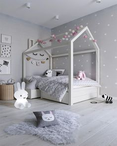 7 Beautiful Examples To Help You Design A Room For A Young Girl Girl Bedroom Designs Beautiful design Examples Girl room Young Cool Bedrooms For Boys, Modern Kids Bedroom, Young Girls Bedrooms, Kids Room For Girls, Baby Girls, Toddler Bedroom Girls, House Beds For Kids, Toddler Playroom, Kid Bedrooms