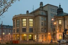 Bratislava_Právnická fakulta_Univerzita Komenského Old Building, European Countries, Central Europe, Bratislava, Czech Republic, Homeland, Prague, Old Town, Budapest