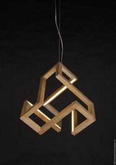 Купить Светильник из дерева РУНА   светильник из дерева, деревянный  светильник, светильник из дуба