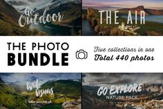 The Photo Bundle - 440 photographs @creativework247