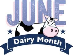 Dairy Month Logo #GotMilk #Dairy #June