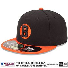 acd1117ad Baltimore Orioles Authentic Collection Turn Back The Clock Negro Leagues  Tribute On-Field 59FIFTY Game