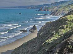 Irish Beach, California
