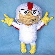 Amigurumi Kick Buttowski, personaje de Disney - Patrón Gratis en Español aquí: http://patronesamigurumipuntoorg.blogspot.de/2014/07/patron-amigurumi-kick-buttowski.html