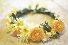 Delightfully Tacky: DIY // Faux Flower Crown