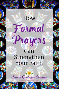 Formal prayers help us connect with God in similar paths, over and over again, to remind us we are forgiven and loved. Faith Prayer, My Prayer, Faith In God, Prayer Quotes, Christian Living, Christian Faith, Christian Women, Mealtime Prayers, Types Of Prayer