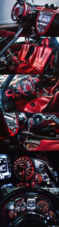 RED, Pagani Huayra Interior