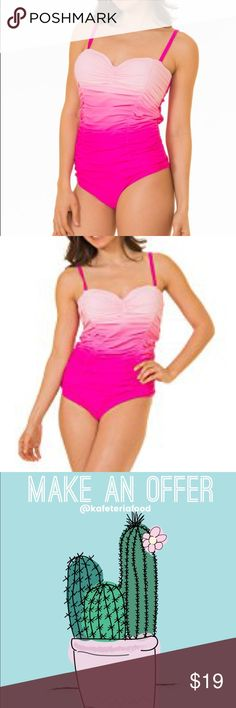 Size20 One Piece Swimsuit This is a NEW never worn one piece swimsuit by CoCo Limon in size 20.  It has adjustable straps that are also removable to make this a strapless.  ***This is not torrid, marked as torrid for exposure***  🌵add to a bundle for an automatic discount or make an offer!  💕if you bundle your likes together I can send you a private offer, just let me know! torrid Swim One Pieces