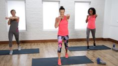 Blast calories with this no-equipment cardio workout that will have your full body working! POPSUGAR Fitness offers fresh fitness tutorials, workouts, and ex...