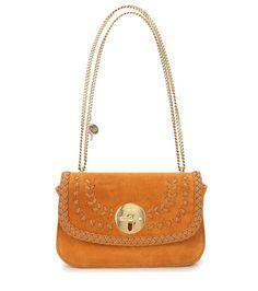 mytheresa.com - Lois Medium Suede Shoulder Bag - See By Chloé | mytheresa.com - Luxury Fashion for Women / Designer clothing, shoes, bags