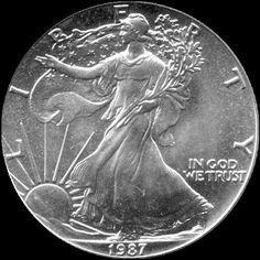 1988 American Silver Eagle 1 Troy Oz 999 fine silver by SGBullion, $41.50