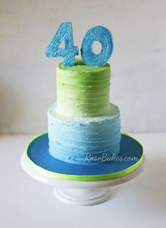 How to Make Lines Texture on Buttercream Cakes. Anybody can do this easy technique to create elegant, beautiful cakes. Only a couple of inexpensive tools...