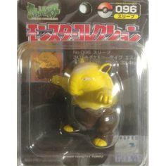 "Pokemon 2004 Drowzee Tomy 2"" Monster Collection Plastic Figure #024"