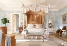2 queen 18th century canopy bed ornante frame french provincial turnpost four poster beds mattresses ash wood england hand crafted  uk yorkshire bespoke beds furniture custom better decorating bible blog