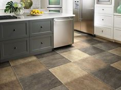 This flooring would be a nice combo to add with the LG Black Stainless Steel appliances.  #LGLimitlessDesign #Contest