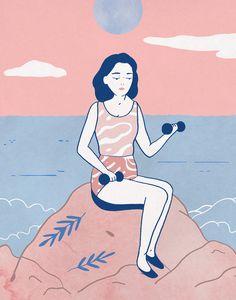 Tallulah Fontaine Illustrations for Paulette Magazine