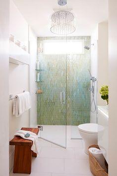 33 unique bathroom tile ideas