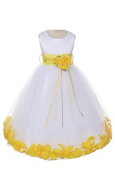 Satin Bodice Communion Flower Girl Pageant Petal Dress: White/Yellow - 8 Dempsey Marie,http://www.amazon.com/dp/B00I83RDWY/ref=cm_sw_r_pi_dp_ZvRCtb0EZ5VCJFQV