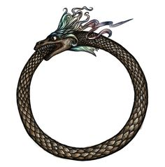 Ouroboros by ~makusa-san on deviantART