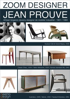 Jean Prouvé - icons of the 20th Century