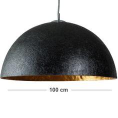 Hanglamp Globe goud 100cm