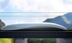 High speed train by Aibek Almasov, via Behance