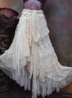 Crochet clothes boho stevie nicks Ideas clothes b… Bohemian Skirt, Gypsy Skirt, Boho Skirts, Bohemian Style, Stevie Nicks, Skirt Fashion, Boho Fashion, Style Fashion, Böhmischer Rock