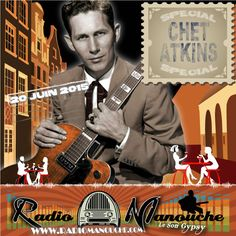 Chet Atkins, 20 Juin 2015 , in www.radiomanouche.com