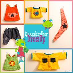 aprilkind – Näh' dich glücklich!: Freebook Quaaaksalber DressUp