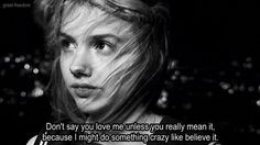 Cassie Skins Skins Quotes, Film Quotes, Really Love You, Say I Love You, Cassie Skins, Skin Aesthetics, Skins Uk, Libido, Hopeless Romantic