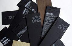 invitación en negro