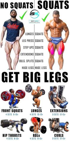 Health Discover leg workout bodybuilding squats how to do - Fitness Leg Exercises With Weights Leg Workouts For Men Gym Workout Tips Weight Training Workouts Killer Leg Workouts Best Leg Workout Calf Exercises Lifting Workouts Workout Fitness Leg Exercises With Weights, Leg Workouts For Men, Gym Workout Tips, Weight Training Workouts, Calf Exercises, Men Exercise, Workout Men, Mens Bicep Workout, Killer Leg Workouts