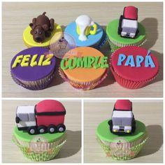 Cupcakes para un papa con diferentes gustos