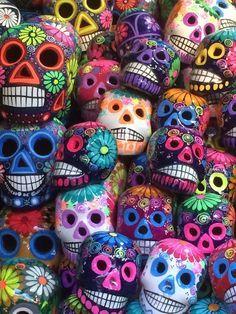 Sugar skulls in Guanjuato.