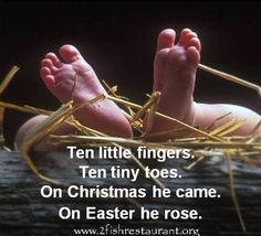 Christmas to Easter quote