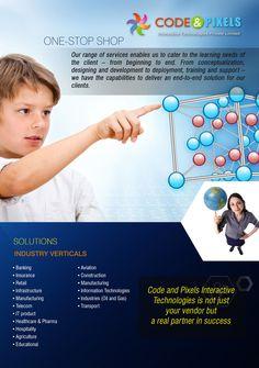 Codeandpixels.net  Solutions and Industry verticals