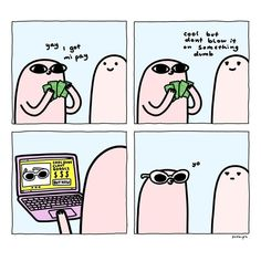 Artist Turns Daily Life Into Comics That You Will Find Them Relatable Cute Comics, Funny Comics, Funny Quotes, Funny Memes, Hilarious, Just In Case, Just For You, Mood, Cute Wallpapers
