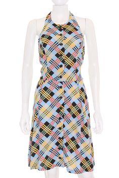 Vestido Betsey Johnson de Cuadros Multicolor de Segunda Mano- Solo 42,95€!! www.ropasion.com