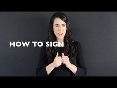 **Want to learn ASL American Sign Language? * 25 Basic ASL Signs for beginners * Link to Part 2 video Basic ASL Signs for Beginners ** Part. English Sign Language, Sign Language Basics, Simple Sign Language, Sign Language Phrases, Sign Language Interpreter, British Sign Language, Learn Sign Language, Learn Another Language, Learn To Sign