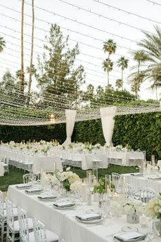 La Tavola Fine Linen Rental: Tuscany White with Dupionique Pewter Napkins | Photography: Katherine Ann Rose Photography, Planning & Design: The Lynden Lane Co, Florals: Paul Fenner Floral Design, Venue: Parker Palm Springs, Lighting: Amber Event Production, Rentals: Hire Elegance
