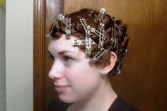 vintage hairstyle # pincurls # pin curls # retro hairstyling